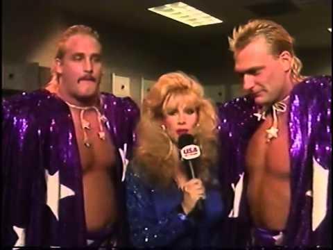 Rhonda Shear Wrestlemania Beverly Brothers