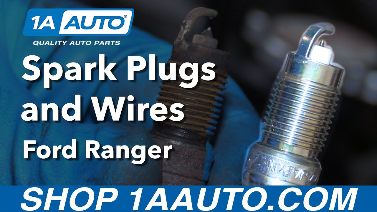 how to replace spark plugs and wires 98 12 ford ranger 4 0l v6 [ 1280 x 720 Pixel ]