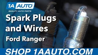 How to Replace Spark Plugs and Wires 98-12 Ford Ranger 4.0L V6
