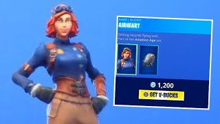 Pilot Skins Suck! Fortnite ITEM SHOP [September 29] | Kodak wK