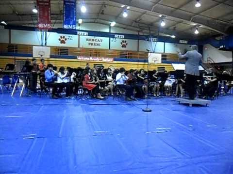 south middle school- honors band