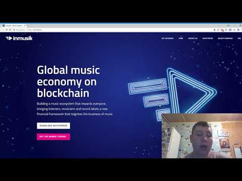 Inmusik - Global Music Economy On Blockchain.