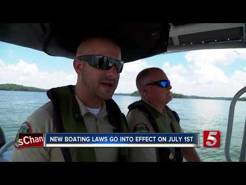New Boating Laws Go Into Effect July 1