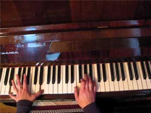 Землянка. Разбор на пианино. Виктория Юдина