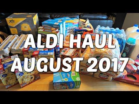 ALDI HAUL & SCHOOL LUNCH PREP: AUGUST 2017