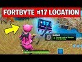 FORTBYTE #17 LOCATION - Found Inside a Wooden Fish Building (FORTNITE FORTBYTE CHALLENGES #17)