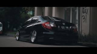 Bagged 9th gen Honda Civic // Gozzy Moeis