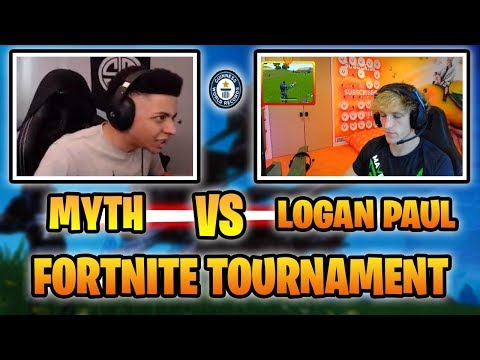 HOW MYTH DESTROYED LOGAN PAUL IN FORTNITE TOURNAMENT! (WINS