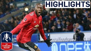 Huddersfield 0-2 Manchester United  Pinpoint Alexis Assist for Lukaku 2nd  Emirates FA Cup 201718