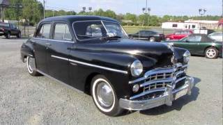 1949 Dodge Coronet Gyro-Matic Start Up, Exhaust, and In Depth Tour