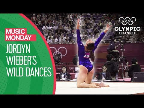"Jordyn Wieber's ""Wild Dances"" performance at London 2012 