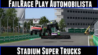 FailRace Play Automobilista Stadium Super Trucks
