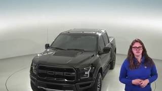 A95746GT - Used, 2018, Ford F-150, Raptor, 4WD, Black, Test Drive, Review, For Sale -