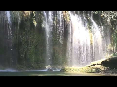 9 Hours Nature Sounds Relaxation-Sound Of Waterfall-Relaxing Meditation With Birdsong-Calming
