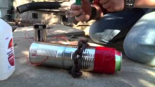 Homemade Jet Engine