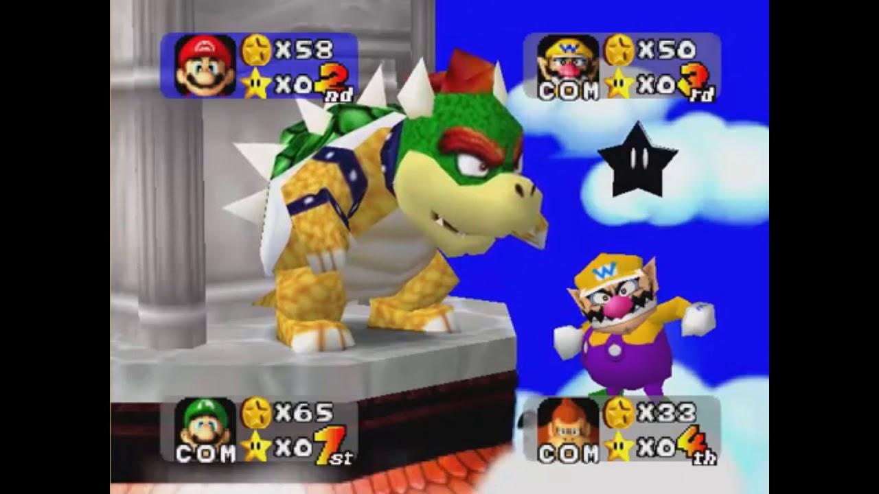 Wario says Oh My God - Mario Party