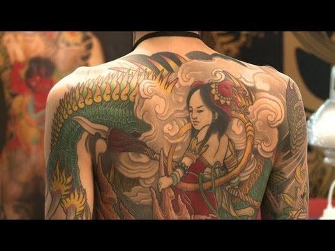 Tattoo lovers descend on hong kong for convention youtube for Tattoo hong kong