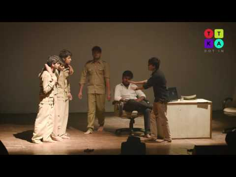 Ghaziabad College Students Perform a Hinglish Play on Terror