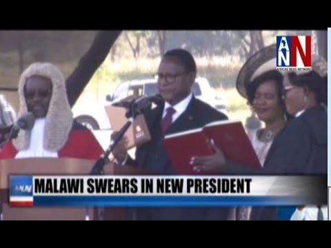Malawi Swears In New President / ANN News 5PM / June 29