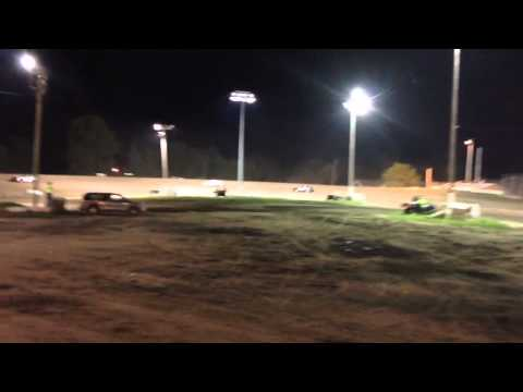 Short Clip from infield // Sport Compacts Kankakee County Speedway