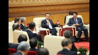 中國總理李克強談中日關係自由貿易,最後一句話更是讓日方掌聲雷動