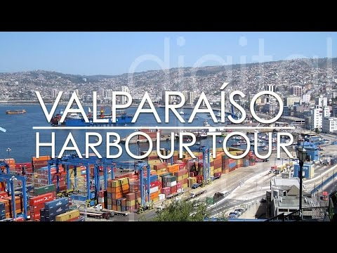 Port of Valparaiso Chile 🇨🇱 seaport tour