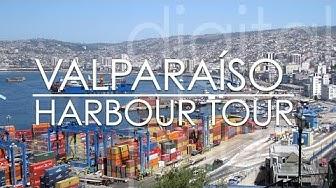 Port of Valparaiso Chile 🇨🇱 seaport tour