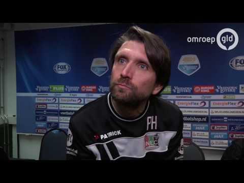 Trainer Peter Hyballa schrok van agressie bij fans NEC