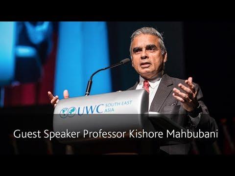 UWCSEA East Graduation 2017, Guest Speaker Professor Kishore Mahbubani