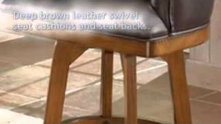 Park View Barrelback Bar Stool - Hillsdale Furniture