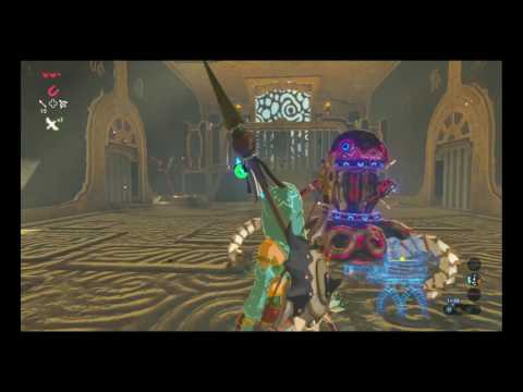 Divine Beast Vah Naboris All Dungeons SPEEDRUN Route