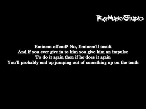 Eminem - Kill You | Lyrics on screen | Full HD