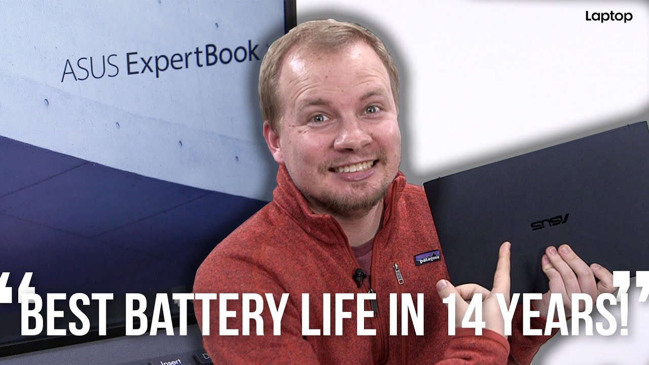 Asus ExpertBook B9450: CRAZY Battery Life!!!