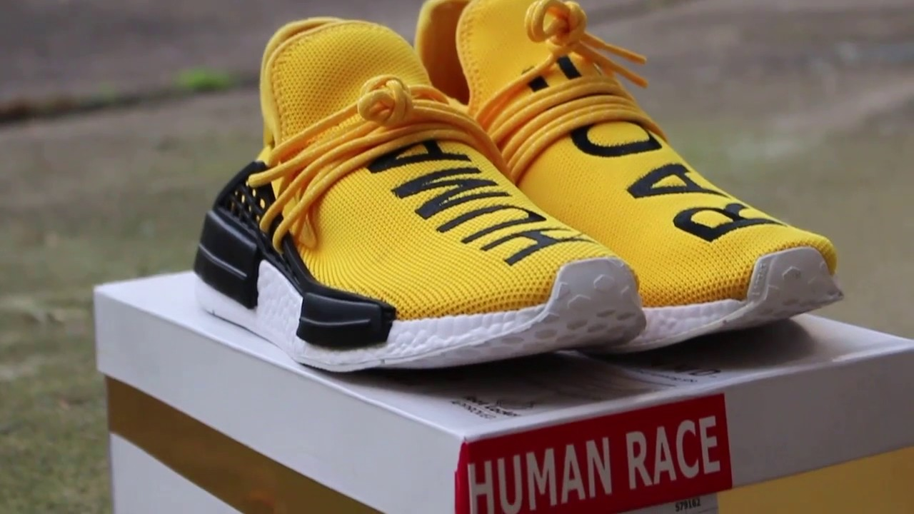 best service 61b0c 494ac BEST NMD HUMAN RACE by Pharell Williams FAKES nuby