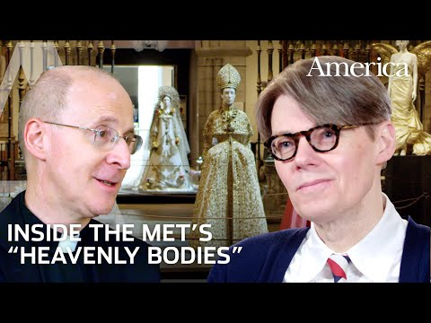 """Inside The Met's """"Heavenly Bodies"""" with Curator Andrew Bolton and Fr. James Martin, S.J."""