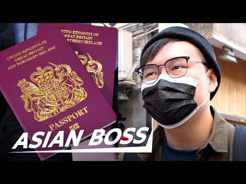 Do Hong Kong People Want UK Citizenship? | STREET INTERVIEW