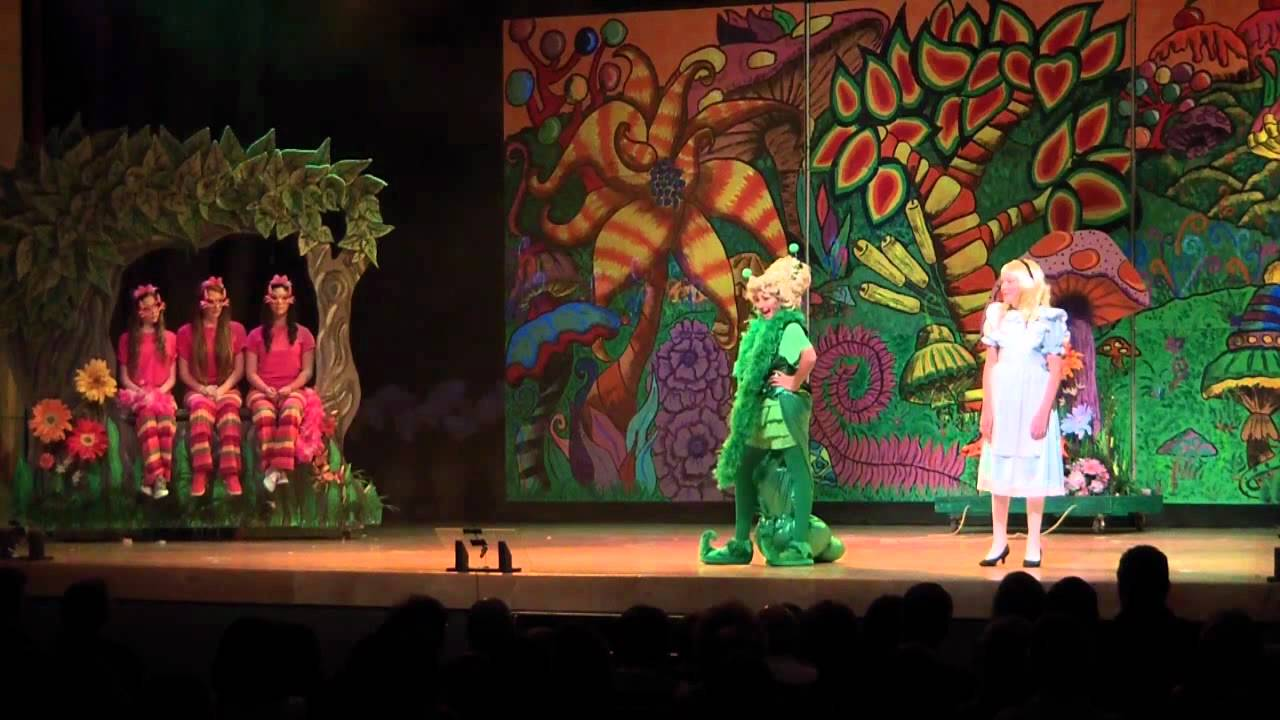 Image result for alice in wonderland caterpillar elementary school play