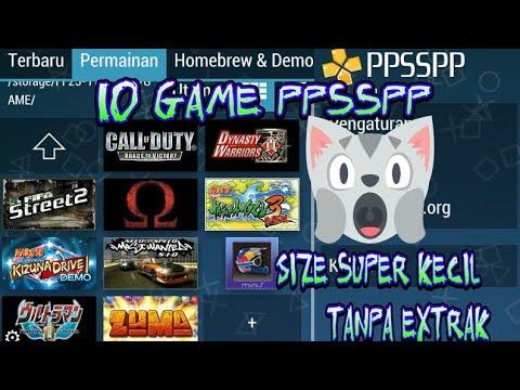 10 Game Ppsspp Ukuran Kecil