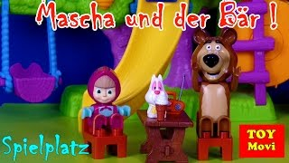 MASCHA UND DER BÄR Deutsch Folgen - ''Spielen auf dem Spielplatz''  - Masha i Medved