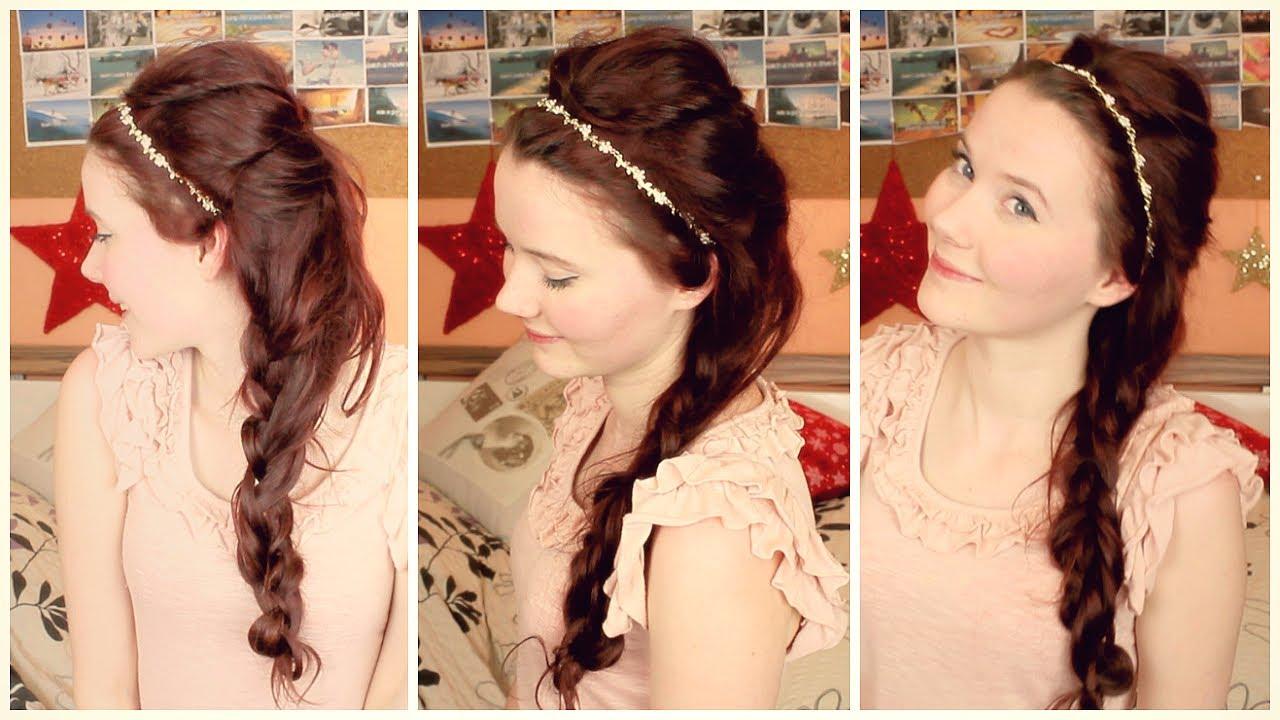► Frisur Like A Princess Silvester 2013 YouTube