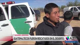Guatemaltecos abandonados en desierto de Arizona,