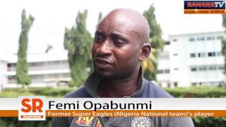 Ex-Super Eagles Star, Femi Opabunmi Says He's Abandoned & Penniless Since Developing Sight Problem