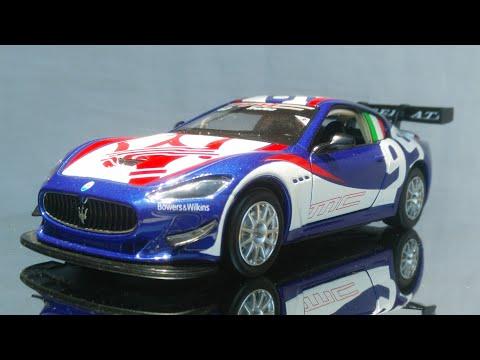 Maserati MC Trofeo GT4 Gran Turismo 1:32 Scale MSZ Diecast Car