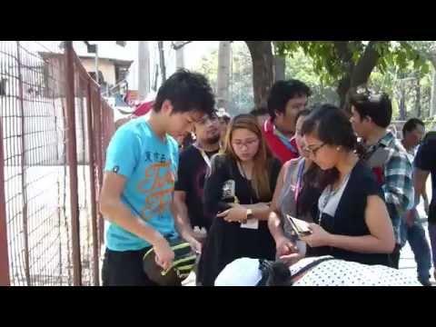 JAPANESE MBA GRAD, STREET FOOD SENSATION IN CEBU, PHILIPPINES, TRAVEL ADVENTURE...