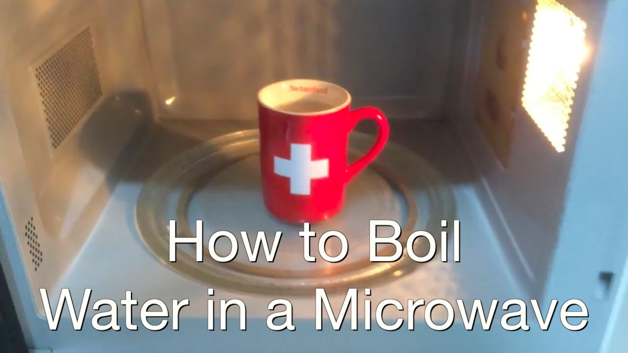 How To Boil Water In The Microwave 9