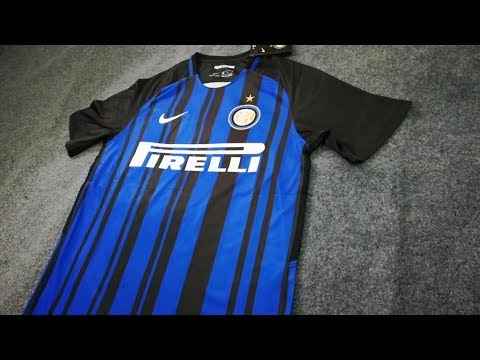 inter milan home soccer jersey 2017 18 unboxing by tectopjersey.com