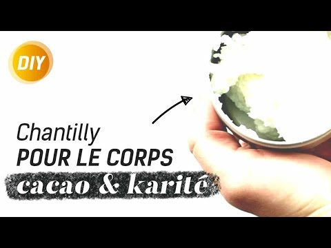 Comment faire une chantilly corps cacao & karité maison ? - DIY