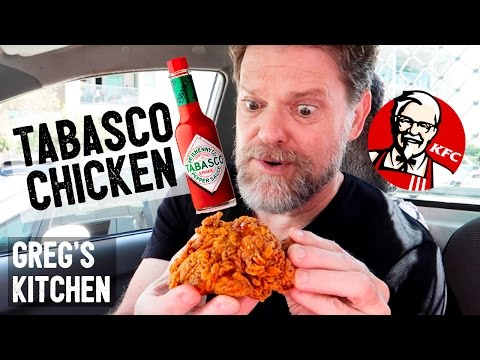 KFC TABASCO CHICKEN $5 MEAL DEAL REVIEW - Greg's Kitchen Food Reviews