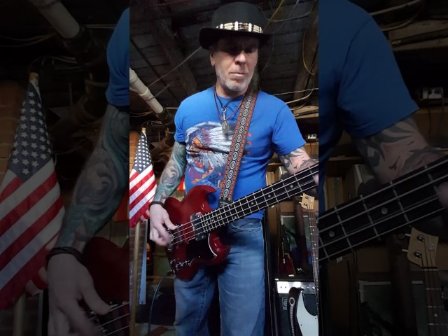 flirting with disaster molly hatchet bass cover video online youtube video