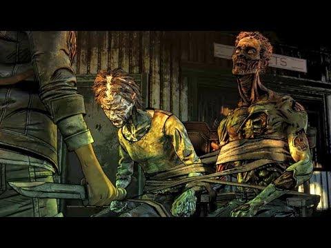 Clementine Kills Sweet Walker Couple (Telltale Walking Dead Final Season 4) |